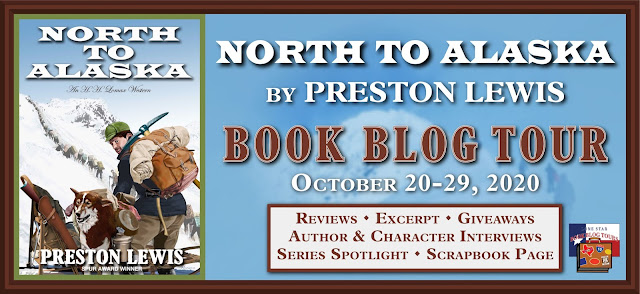 North to Alaska book blog tour promotion banner