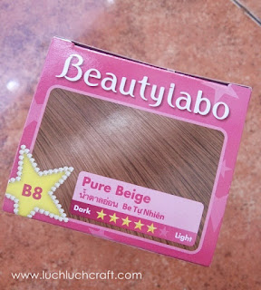 BEAUTY REVIEW: Beautylabo Hair Color B8 Pure Beige