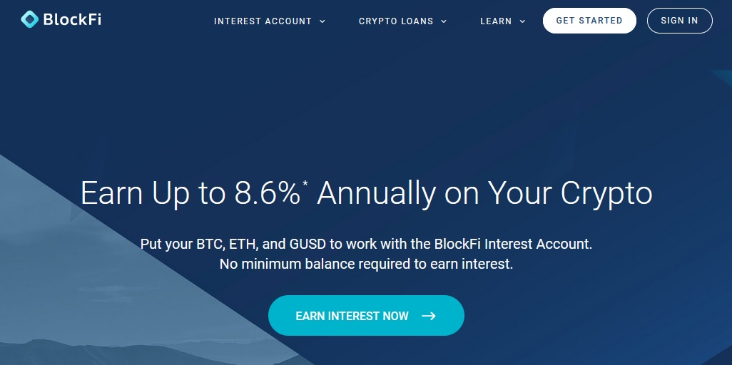 how to earn interest on your cryptocurrency