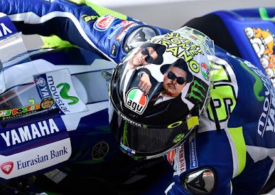 Rossi: Saya Start dari Belakang Lorenzo di Kandang Sendiri