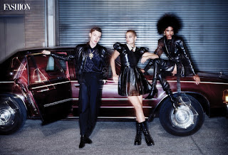 INYIM Media Fashion Editorial: Model Émile Venissa, Bruce & Jessica Jansen For Fashion Magazine's Newest Edition!