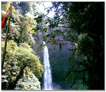 Air Terjun Nungnung Kabupaten Badung Bali
