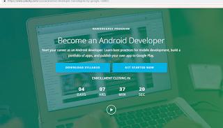 Belajar Membuat Aplikasi Android Langsung Dari Google dan Udacity