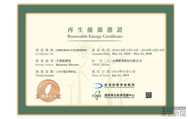 養豬發綠電破10萬度 台糖成綠電憑證供給者