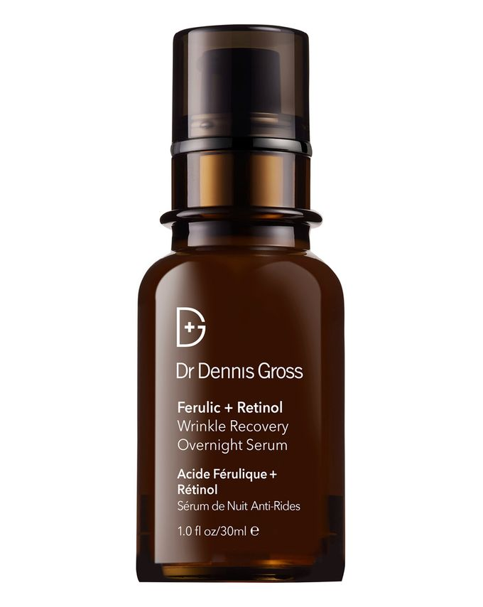 dr Dennis gross ferric and retinol wrinkle recovery overnight serum