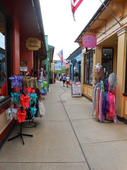 The Washington Street Mall in Cape May New Jersey