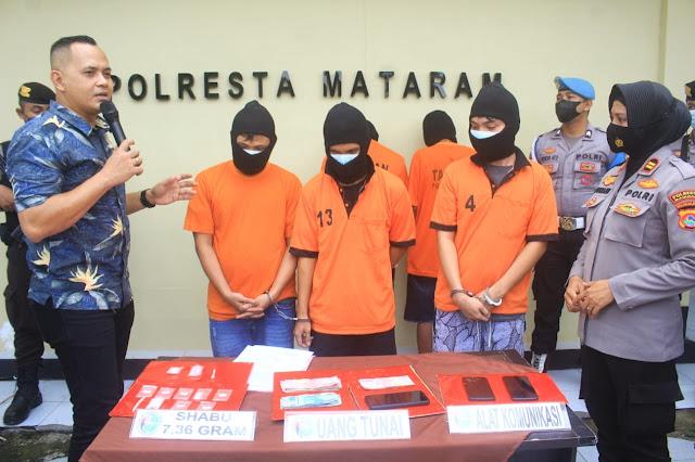 Kompak, 3 saudara kandung di Mataram jadi pengedar sabu