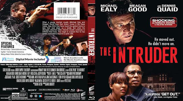 The Intruder Bluray Cover