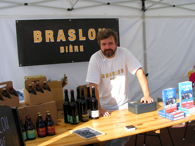 Artisan beer at a food festival. Photo by Loire Valley Time Travel .