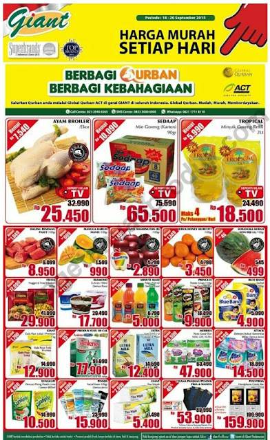 Promosi Giant Akhir Pekan 18 - 20 September 2015