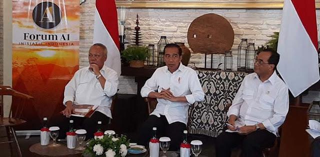 Di Hadapan Jokowi, Basuki Paparkan Hasil Kerjanya Lima Tahun Terakhir