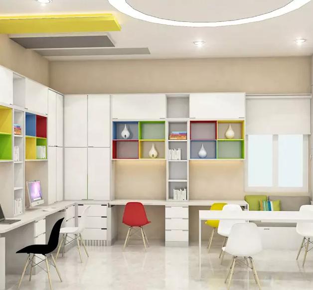 Ruang Tempat Anak-Anak Belajar