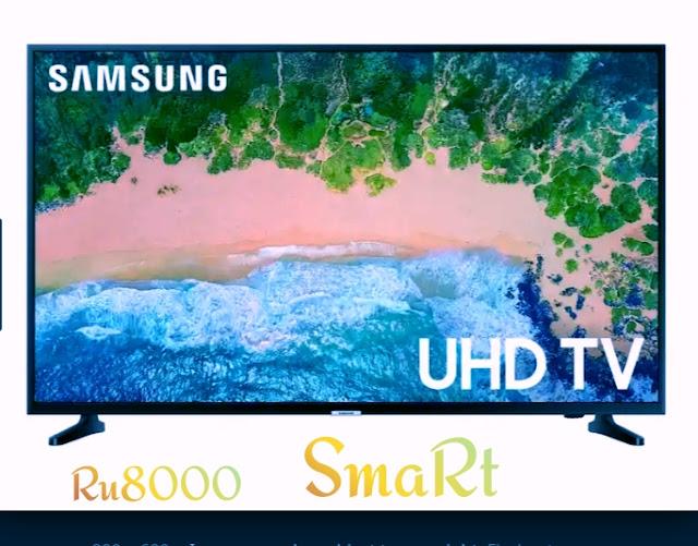 55,class RU8000 Sumsung HD lED smart tv  online