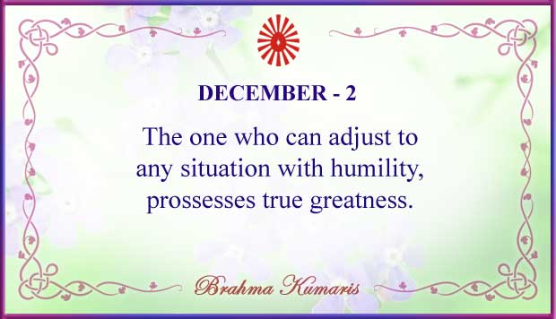 Thought For The Day December 2