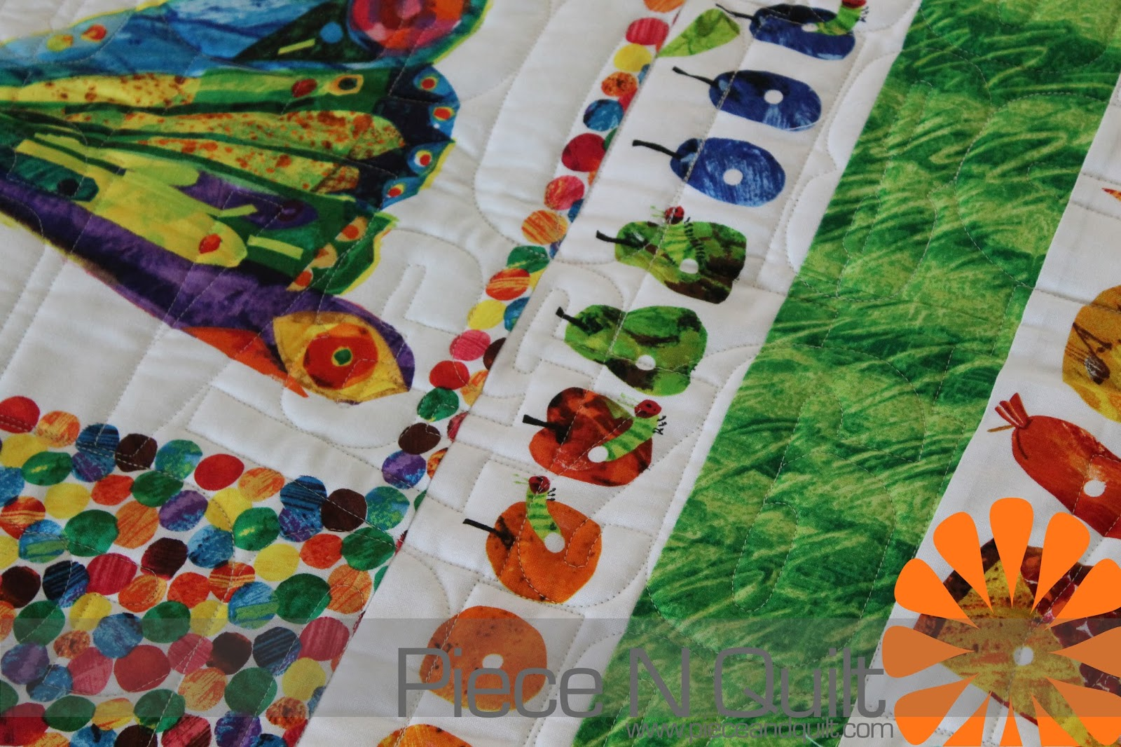 Piece N Quilt Hungry Caterpillar Quilt