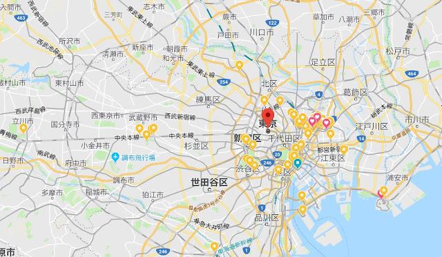 親子自助旅行活用google map標註景點