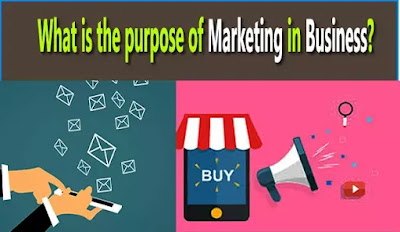 purpose of marketing in business?