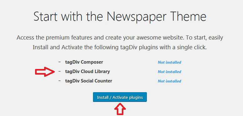Start Newspaper Theme
