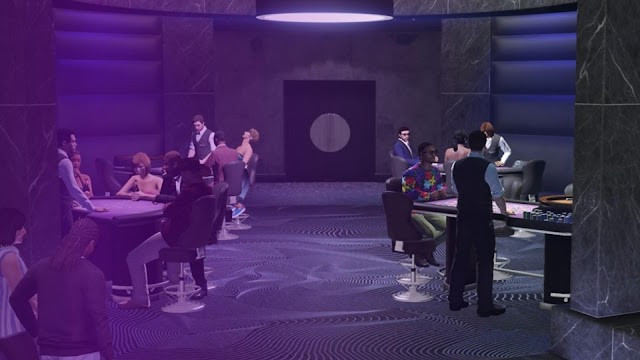 GTA Online update casino: It allows you to drink wine for free at the casino