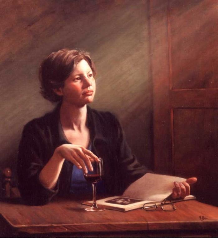 Натюрморты, пейзажи и фигуративные картины. Maureen Hyde