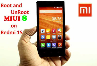 How to easily Root Xiaomi Redmi 1S On MIUI 8 Without PC