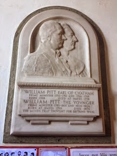 Figure 6: A memorial to father and son inside St. Mary the Virgin church, Hayes