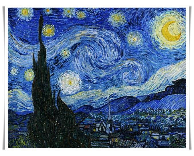 Uma vida dramática expressada na arte de Van Gogh