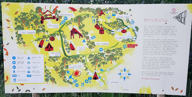 Timber Festival 2019 Site Map