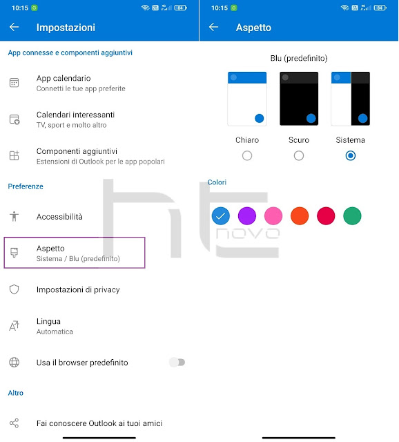 Outlook per Android ottiene nuove opzioni di personalizzazione