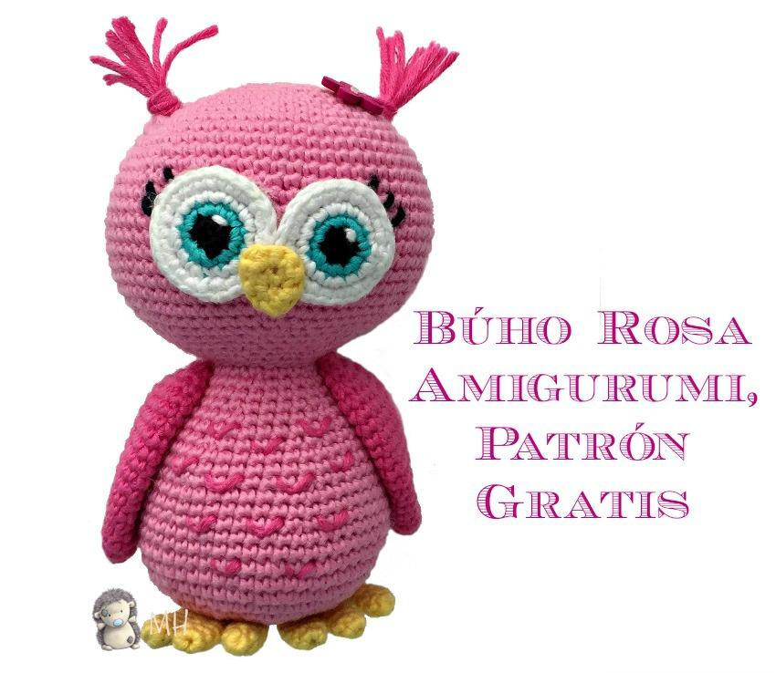 MADRES HIPERACTIVAS: manualidades y DIY con y para niños: Búho Rosa ...