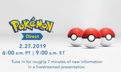 Pokémon Direct February 27 2019 teaser