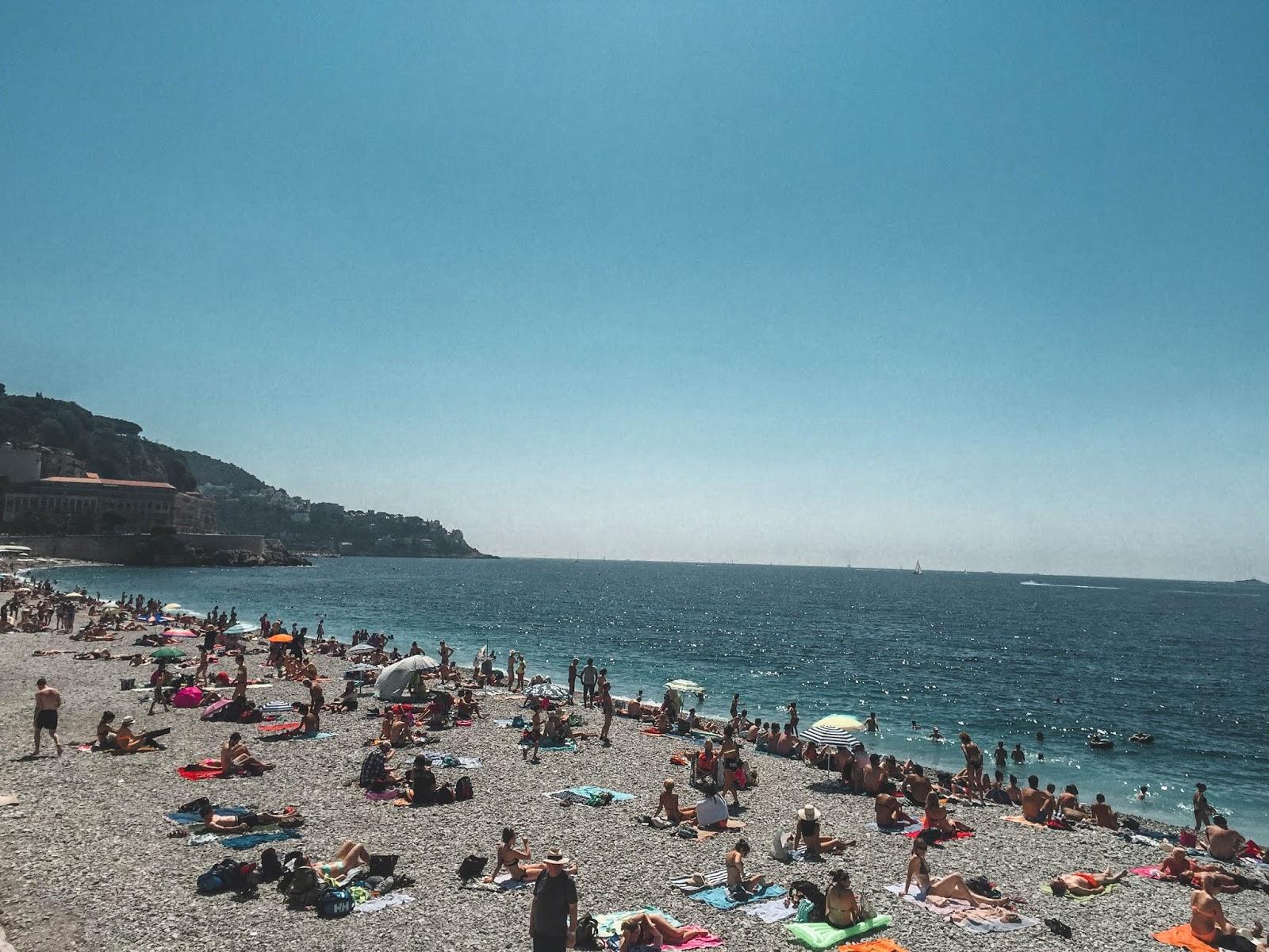 Blue Beach Nice France
