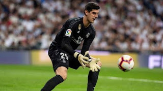 Courtois Returns To Madrid After Being Released From International Duty