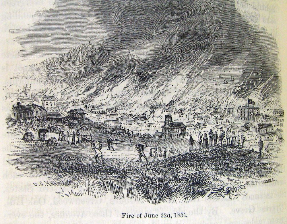 San Francisco fire of 1851