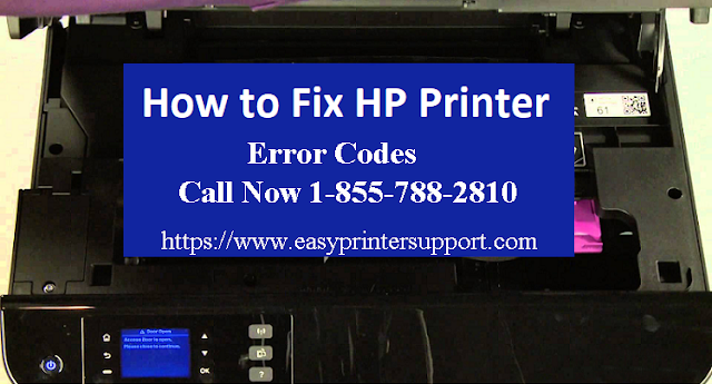 hp printer error codes list