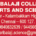 Sri Balaji College of Arts and Science, Chennai, Wanted Teaching Faculty