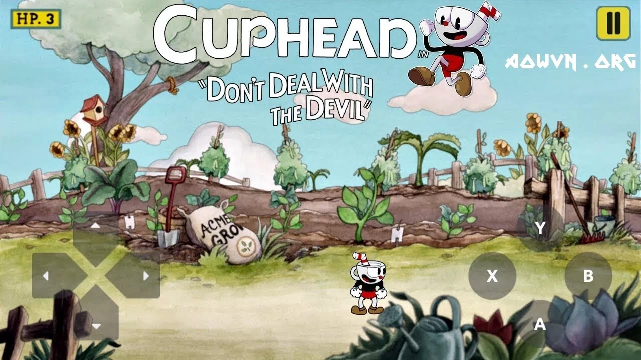 AowVN.org Cuphead min%2B%25281%2529 - [ HOT ] Cuphead Mobile | Android - Game Cực Hay