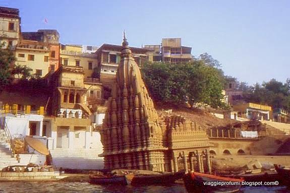 Il Gange a Varanasi