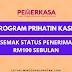 Program PRIHATIN Kasih: Semak Status Penerima RM100 Sebulan