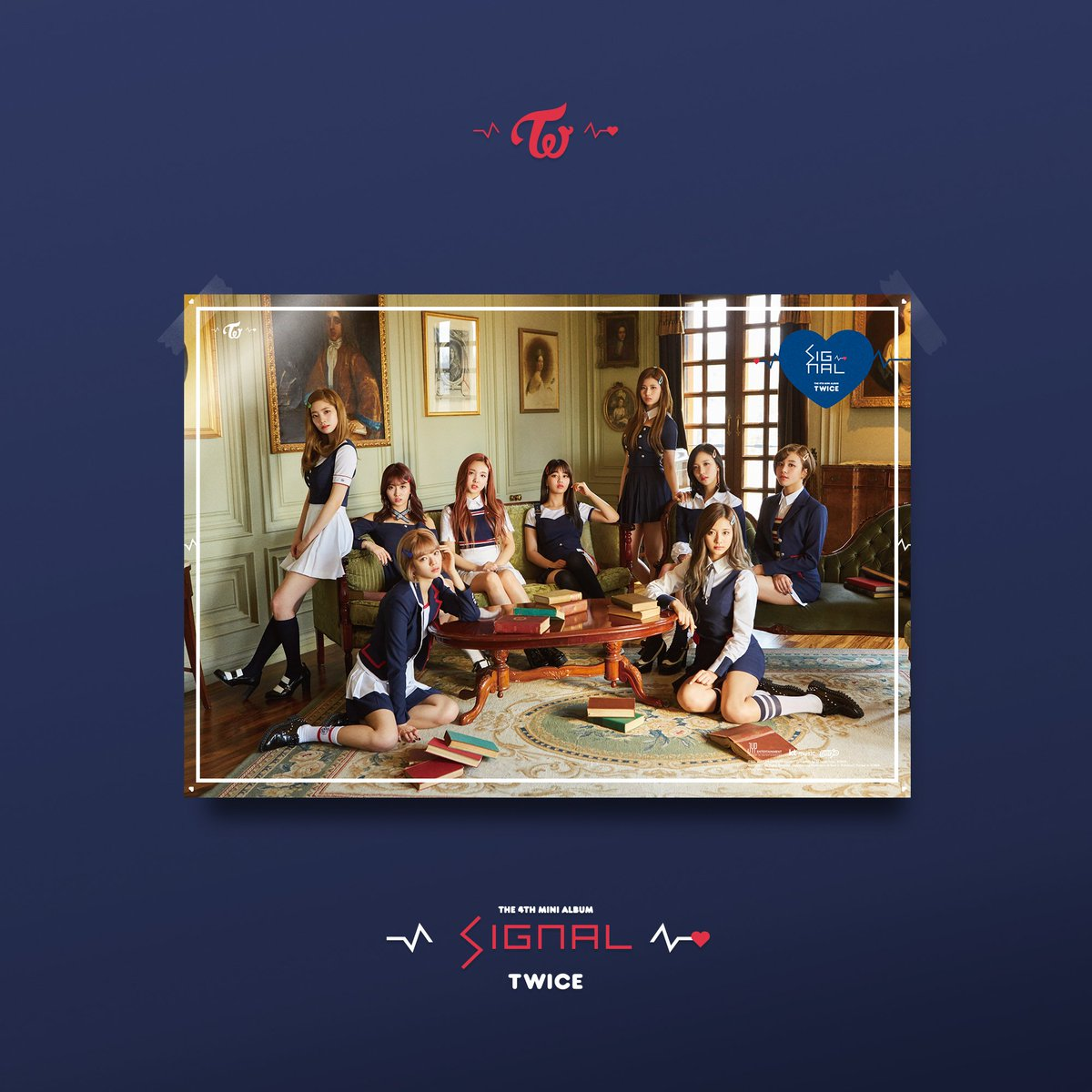 Reveal Group: TWICE Reveal Group Teaser Image For 'Signal'