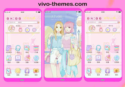 Girl Birthday Party Place Theme For Vivo Android Smartphone