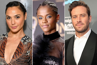 Wonder Woman's Gal Gadot, Black Panther's Letitia Wright, and Call Me by Your Name's Armie Hammer are all set to star in Kenneth Branagh's Death on the Nile