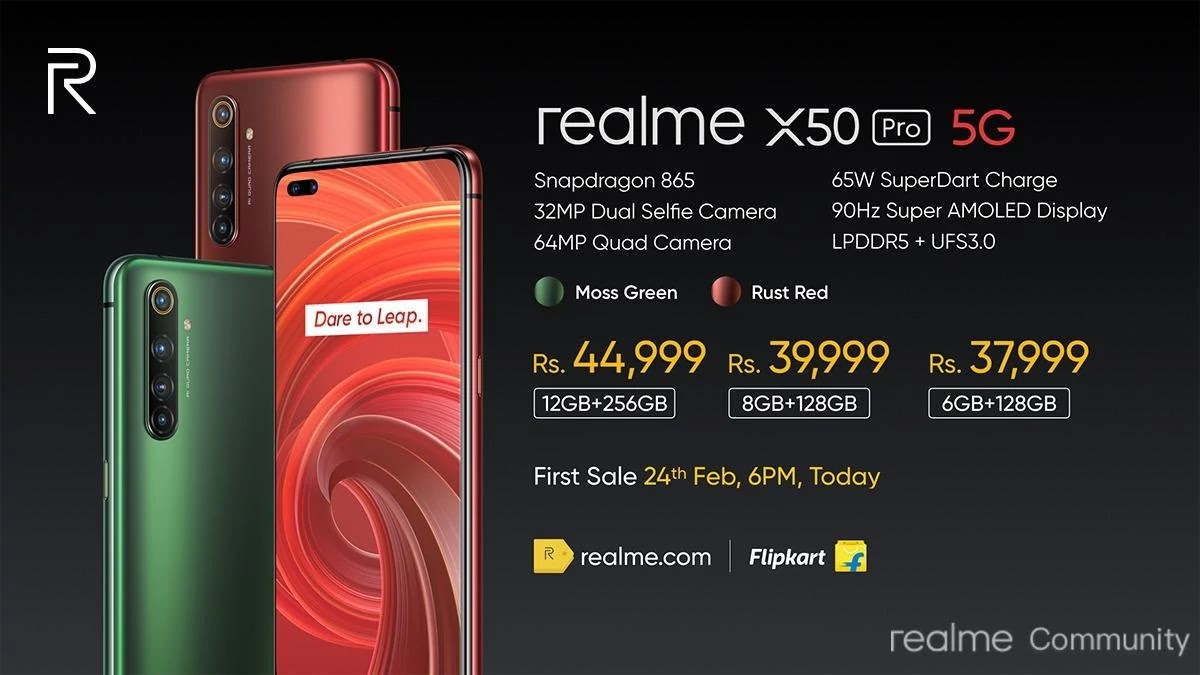 Realme X50 Pro 5G Specification Price, Availability & Much More - Realme Updates