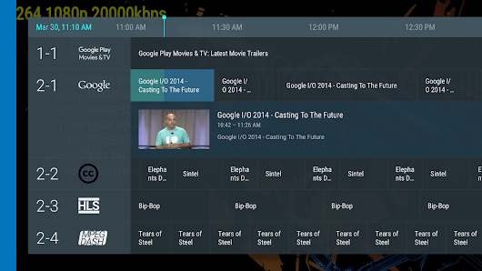 Adding TV Channels to Your App with the TIF Companion Library
