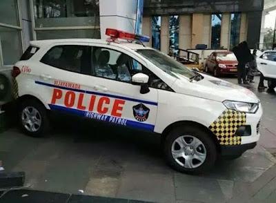 Ford Ecosport police  car