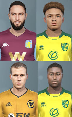 PES 2019 Facepack 2 by Champions1989