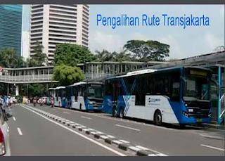 Pengalihan Rute Transjakarta