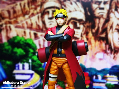 "Figuras: Review del S.H.Figuarts ""Naruto Uzumaki - Sage / Sennin Mode Advanced Version"" de Tamashii Nations"