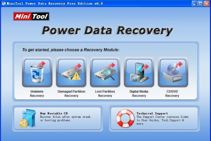 Free Download MiniTool Power Data Recovery Free 8.7