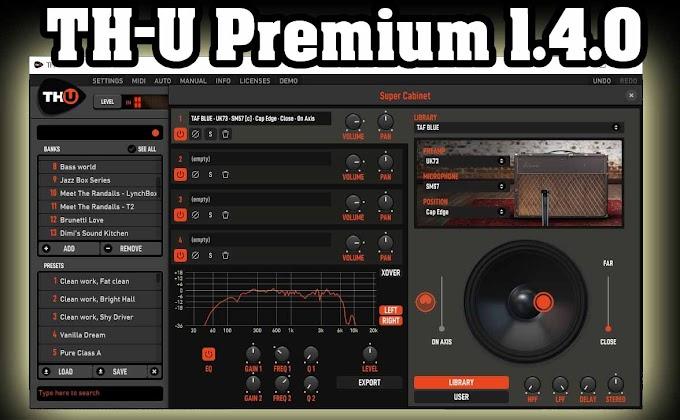TH-U Premium 1.4.0 by Overloud - STANDALONE, VST, VST3, AAX x64